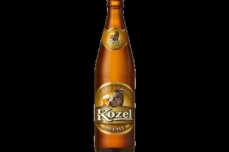 Пиво Козел светлое